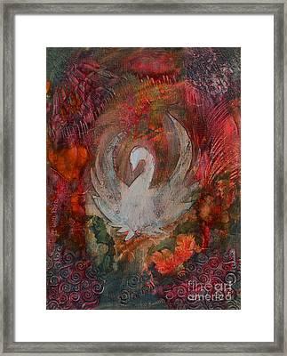 I Will Rise Framed Print by Nancy TeWinkel Lauren