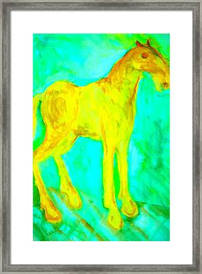 I Will Show You Everything But Will You See It  Framed Print by Hilde Widerberg