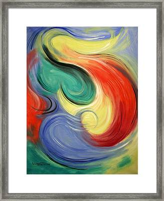 I Will Supply All Your Needs Framed Print by Anthony Falbo