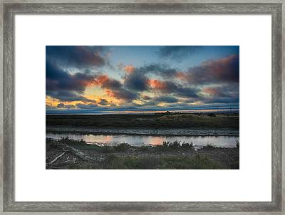 I Wish It Would Never End Framed Print by Laurie Search