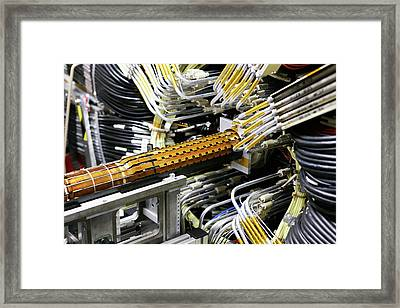 Ibl Subdetector For Atlas At Cern Framed Print by Cern