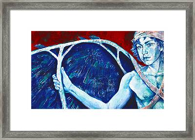 Icarus Framed Print by Derrick Higgins