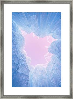 Ice Framed Print by Chad Dutson