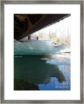 Ice Framed Print by Jennifer Kimberly