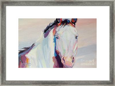 Ice Framed Print by Kimberly Santini