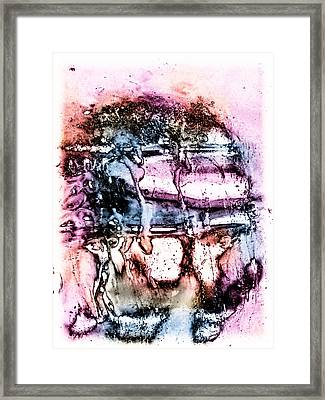 Ice Number Three Framed Print by Bob Orsillo