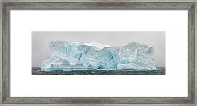 Iceberg In Gerlache Strait, Antarctica Framed Print by Panoramic Images