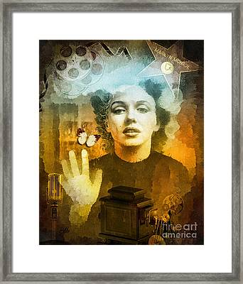 Icon Framed Print by Mo T