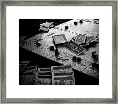 Iconic Game Framed Print by Camille Lopez