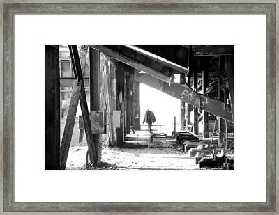 Icons Framed Print by Jim Cook