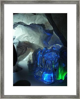 ...icy Blew... Framed Print by Charles Struse Sr
