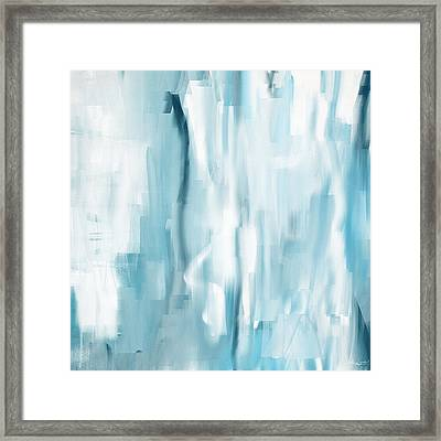 Icy Passion Framed Print by Lourry Legarde