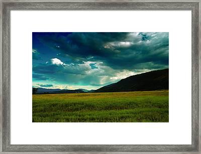 Idaho Beauty Framed Print by Jeff Swan