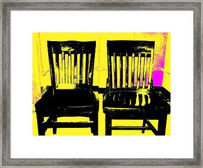 Identity Crisis Framed Print by Wendy J St Christopher