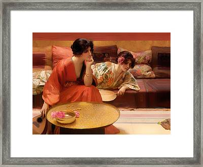 Idle Hours Framed Print by Mountain Dreams