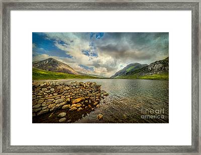 Idwal Lake Framed Print by Adrian Evans