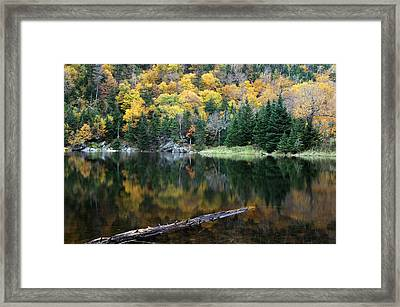 Idyllic Vermont Autumn Glory Framed Print by Juergen Roth