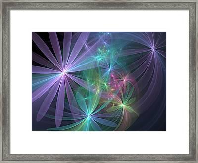 If Flowers Had Wings... Framed Print by Svetlana Nikolova