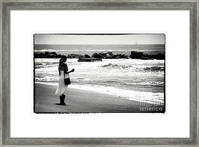 If I Could Sail Away Framed Print by John Rizzuto
