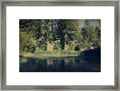 If It Was An Ocean Framed Print by Laurie Search