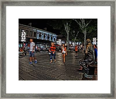 If Red Could Talk Framed Print by Jeff Stallard