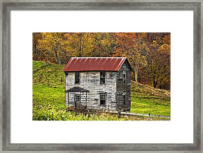 If These Walls Could Talk Framed Print by Steve Harrington