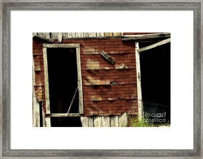 If Walls Could Talk Framed Print by Cris Hayes
