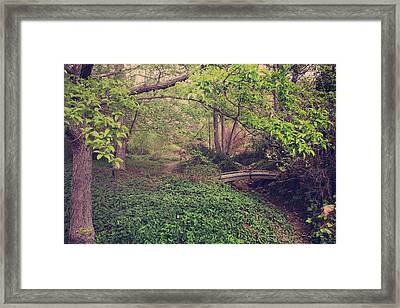 If You Believed In Me Like I Believed In You Framed Print by Laurie Search