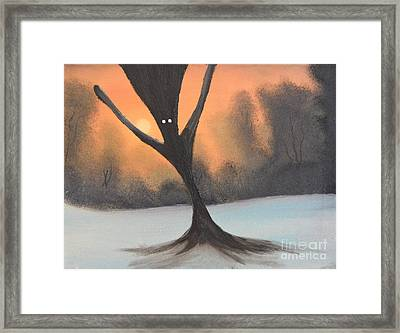 If You Go Into The Woods Today Framed Print by John Kemp