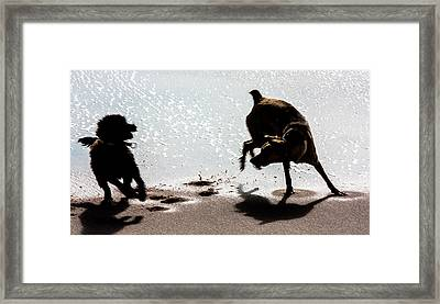 If You Need A Friend Framed Print by Edgar Laureano