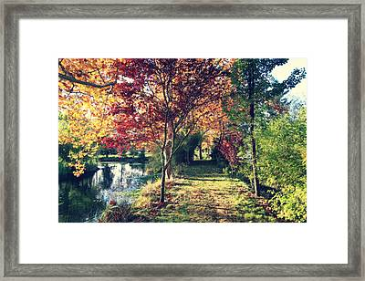 If You'll Just Hold My Hand Framed Print by Laurie Search