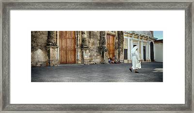 Iglesia De La Merced Church, Granada Framed Print by Panoramic Images