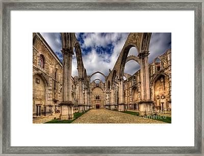 Igreja Do Carmo Church Framed Print by English Landscapes