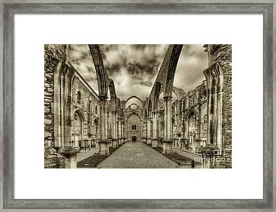 Igreja Do Carmo Framed Print by English Landscapes