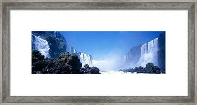 Iguacu Falls, Parana, Brazil Framed Print by Panoramic Images