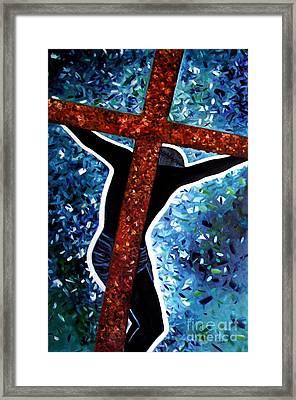 Il Crocifisso - The Crucifix Framed Print by Ze  Di
