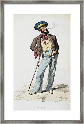 Il Guappo Framed Print by British Library