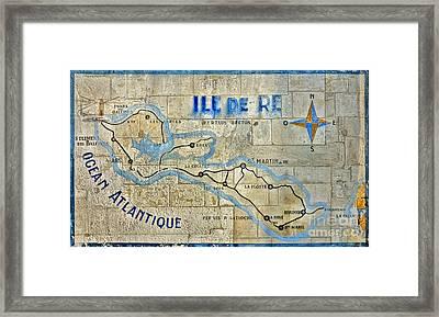 Ile De Re Framed Print by Olivier Le Queinec