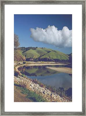 I'll Always Be There When You Wake Framed Print by Laurie Search