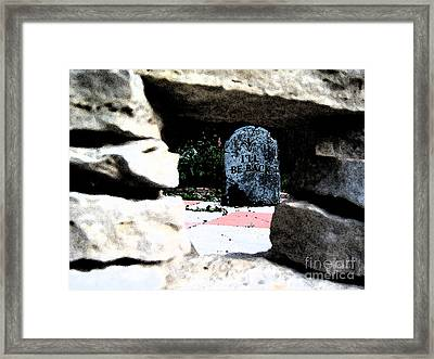 I'll Be Back By Jrr Framed Print by First Star Art