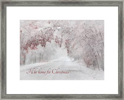 I'll Be Home Framed Print by Lori Deiter