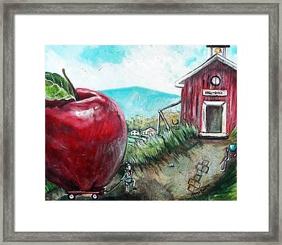 Ill Be The Teachers Pet For Sure Framed Print by Shana Rowe Jackson