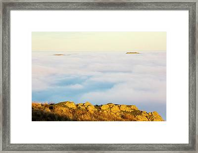 Ill Bell And The Kentmere Fells Framed Print by Ashley Cooper