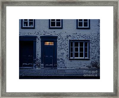 I'll Leave The Light On For You Framed Print by Edward Fielding