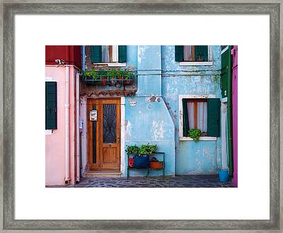 I'll Meet You At Number 443 Framed Print by Francois Girard