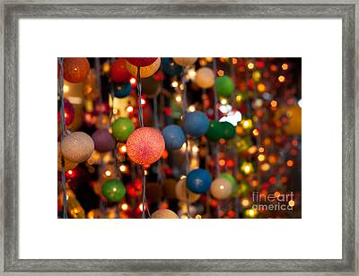 Illuminated Decoration  Framed Print by Fototrav Print