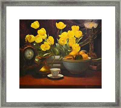 Illuminated Framed Print by Diane Reeves