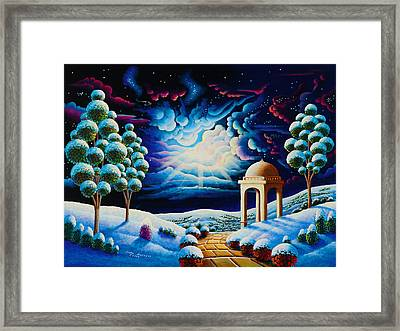 Illumination 2 Framed Print by Andy Russell