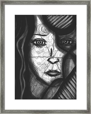 Illumination Of Self Framed Print by Daina White
