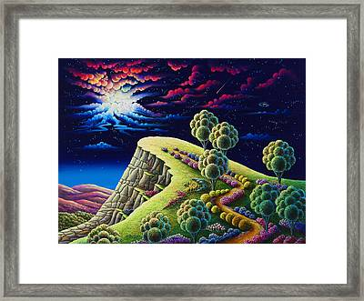 Illumination Point Framed Print by Andy Russell
